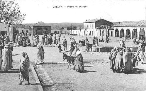 Place du marché de Djelfa