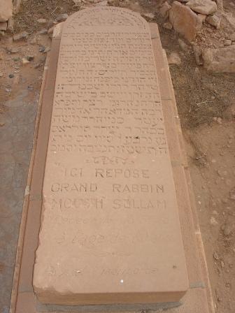 Tombe du Grand Rabin Moche Sellam